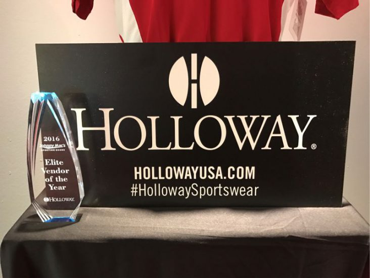 Holloway Sportswear wins Vendor of the Year Award
