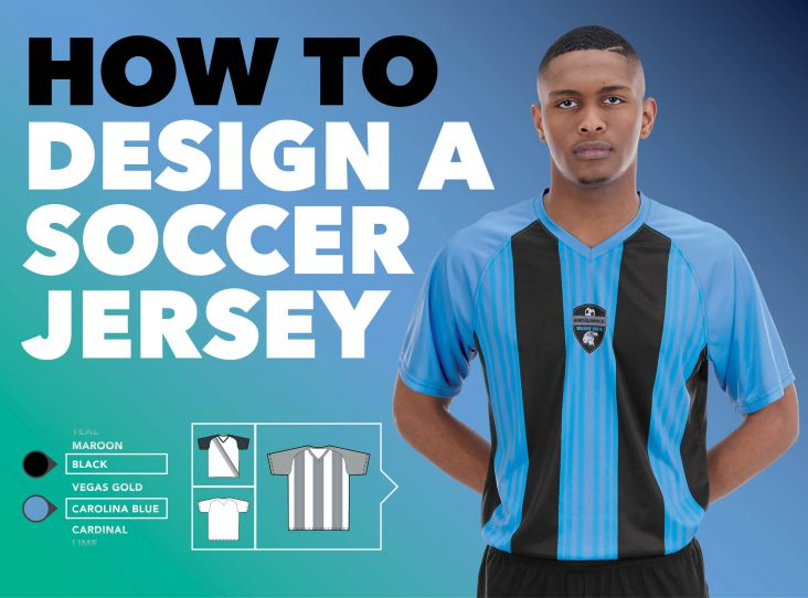 how to design a soccer jersey