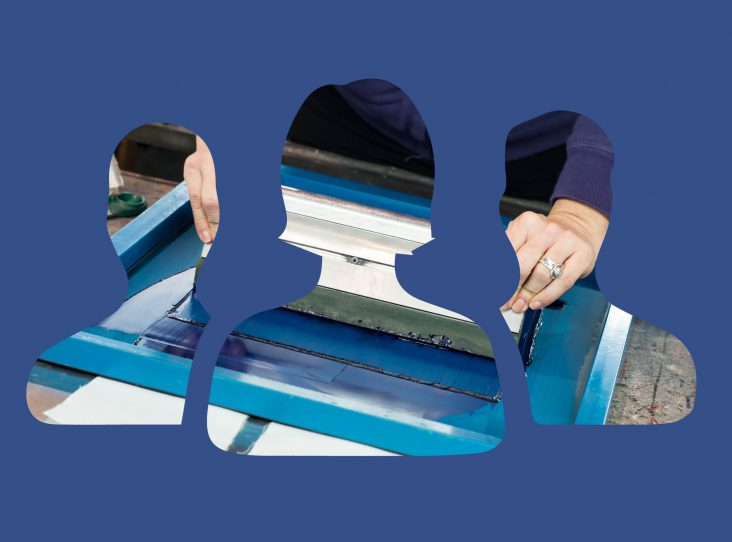 facebook for screen printers