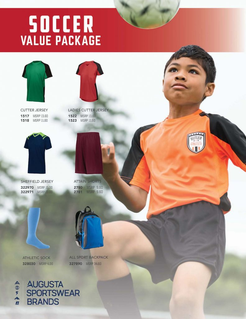 Youth Sports Value Soccer Uniforms