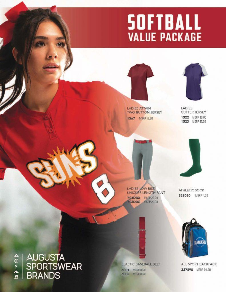 Youth Sports Value Softball Uniforms
